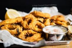 Crispy Curried Fried Calamari