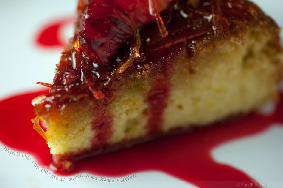 Blood Orange Olive Oil Cake with Candied Blood Orange Peel Glaze ...