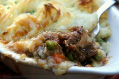 Braised Short Rib Shepard�s Pie with Guinness Gravy