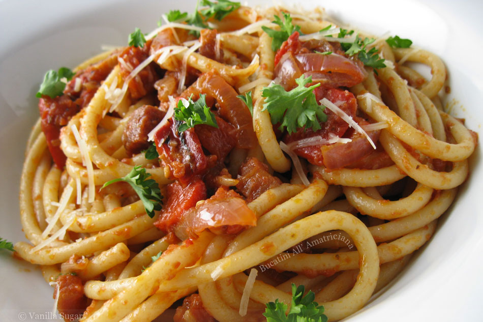 Bucatini All' Amatriciana « FoodPornDaily | Food Porn, Food ...