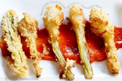 Buttermilk Fried Spring Onions with Gochujang Mayo