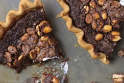 Buttery Crust Layers of Luscious Caramel, Salty Peanuts and Fudgy Brownie