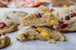 Chewy Salted Brown Butter M and M Cookies