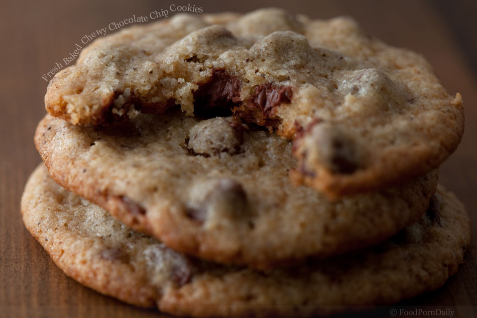 Fresh Baked Chewy Chocolate Chip Cookies