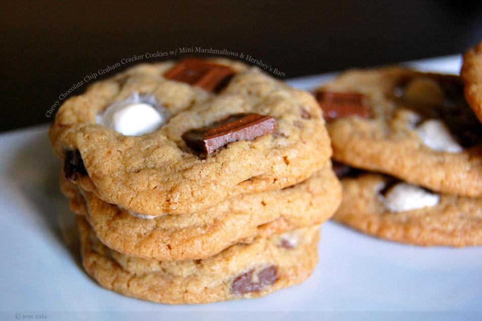 Mini S'mores Cookies Recipe — Dishmaps