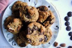 Chewy Mayan Chocolate and Pecan Cookies