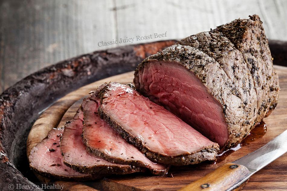 Classic Juicy Roast Beef