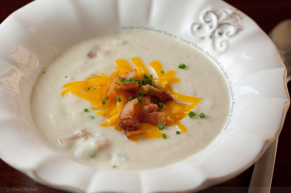 Creamy Cauliflower Soup With Bacon And Gorgonzola Recipes — Dishmaps