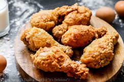 Crispy, Juicy Buttermilk Fried Chicken Drumsticks