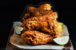 Crispy, Juicy Malaysian Mamak Fried Chicken with a Flavorful Curry Kick