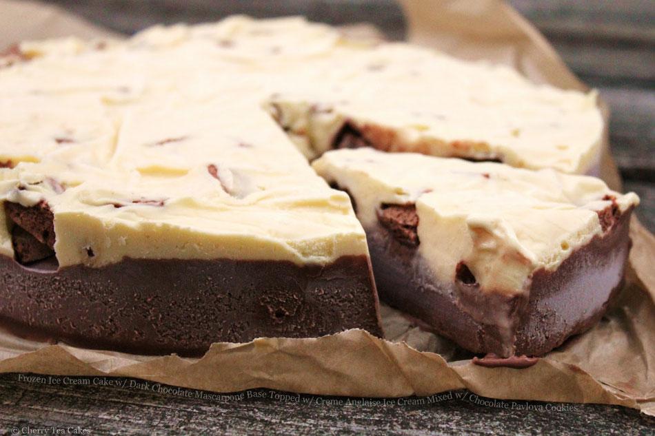 Chocolate Cherry Mascarpone Cake