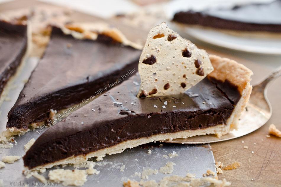 ... cocoa nib s and lime dark chocolate pie with cocoa nib praline recipes