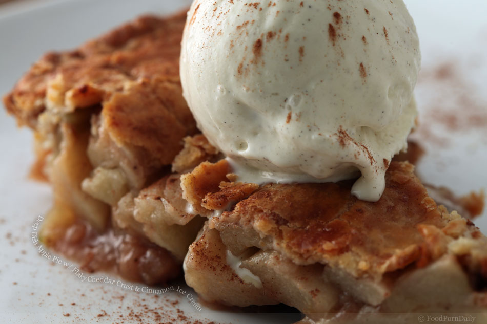 Apple Pie Ice Cream Recipe — Dishmaps