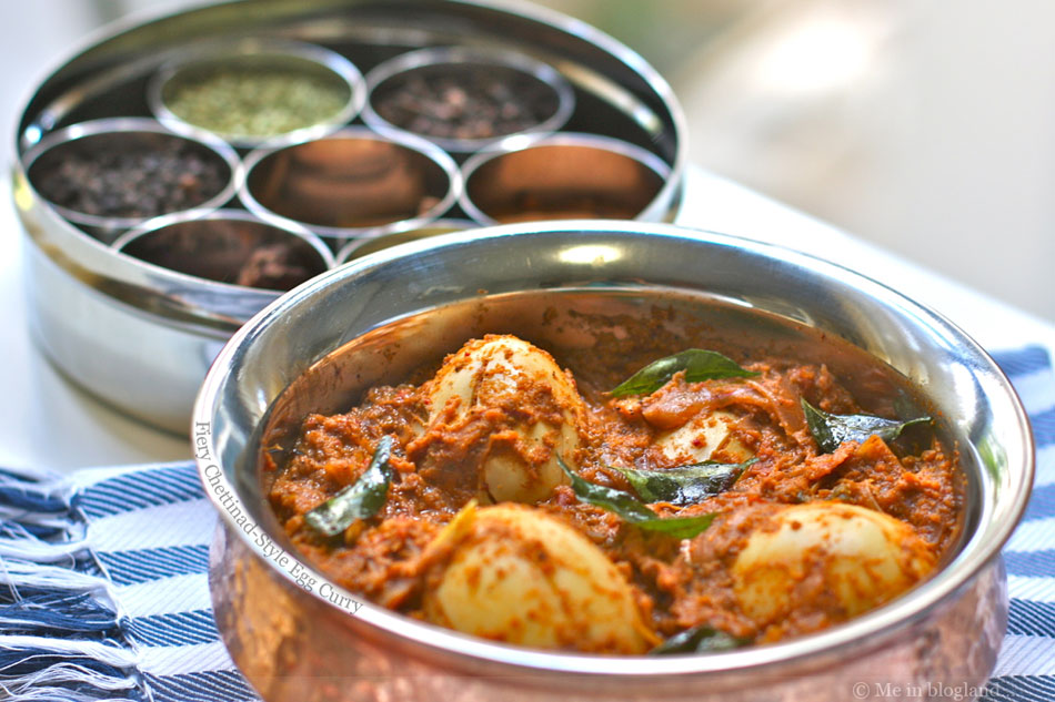 Fiery Chettinad-Style Egg Curry