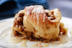 Fluffy Apple Cinnamon Rolls Drizzled with Maple Glaze