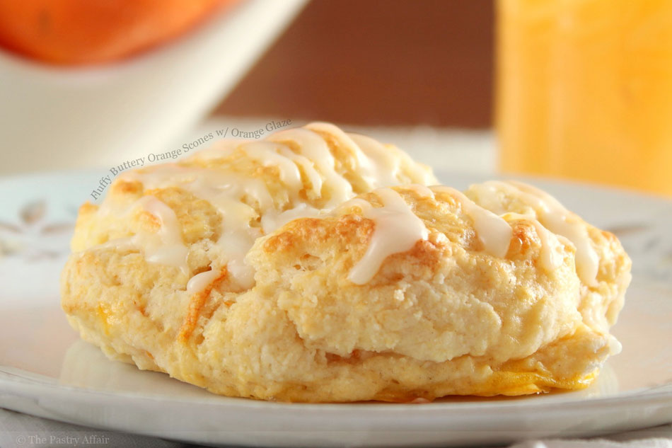 Glazed Orange Scones Recipes — Dishmaps