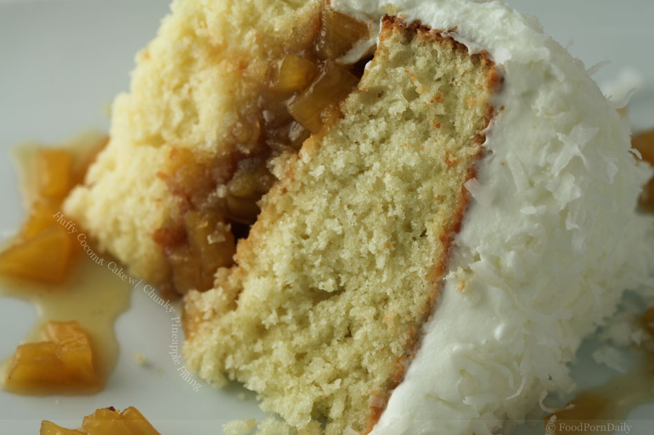 Coconut Cake With Pineapple Filling | HD Walls | Find Wallpapers