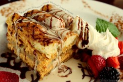 Fluffy Pumpkin Tiramisu with Fresh Whipped Cream and Berries