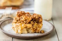 Gooey Caramel Apple Pie Bread Pudding