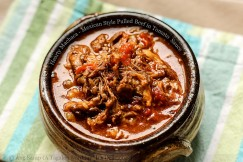 Hearty Machaca – Mexican Style Pulled Beef in Tomato  Sauce