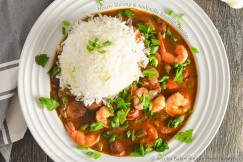 Hearty Shrimp and Andouille Sausage Gumbo