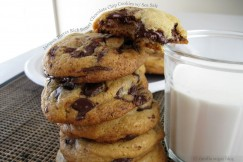 Jacques Torres Rich Buttery Chocolate Chip Cookies with Sea Salt
