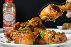 Juicy Grilled Sweet and Spicy Thai Honey Chicken