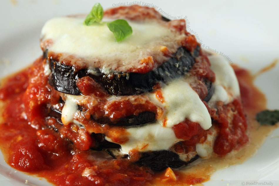 Eggplant parmigiana. I could cry. | Grace! | Pinterest
