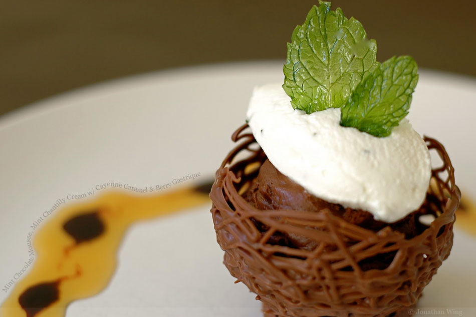 Chocolate Mint Mousse Recipe — Dishmaps
