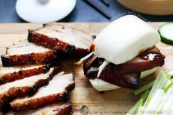 Momofuku Style Pork Belly Steamed Buns