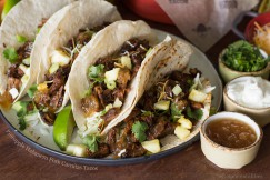 Pineapple Habanero Pork Carnitas Tacos
