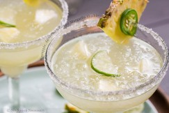 Pineapple, Jalapeno and Ginger Margarita Slushie