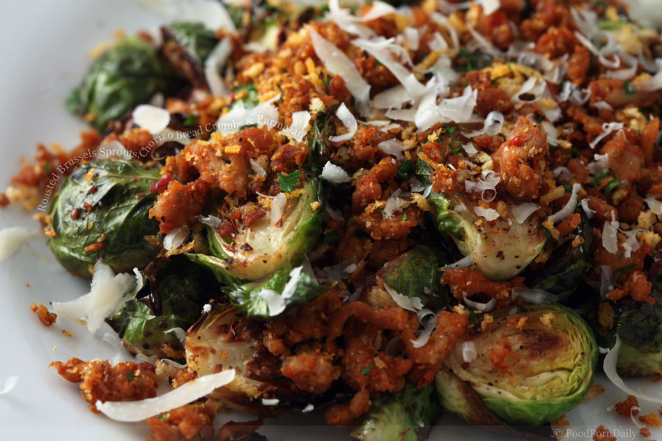 Roasted Brussels Sprouts With Chorizo Recipes — Dishmaps