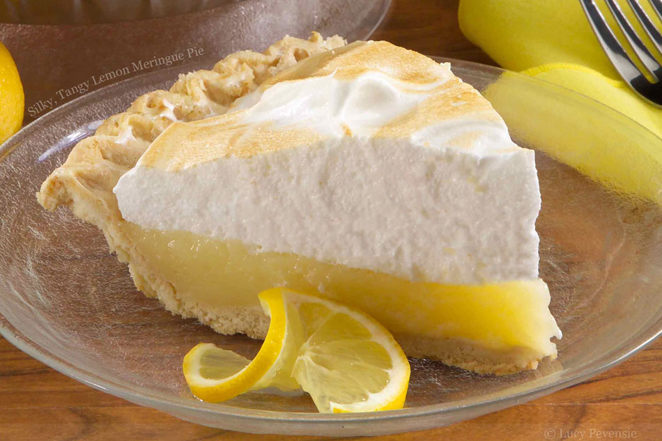 Silky, Tangy Lemon Meringue Pie