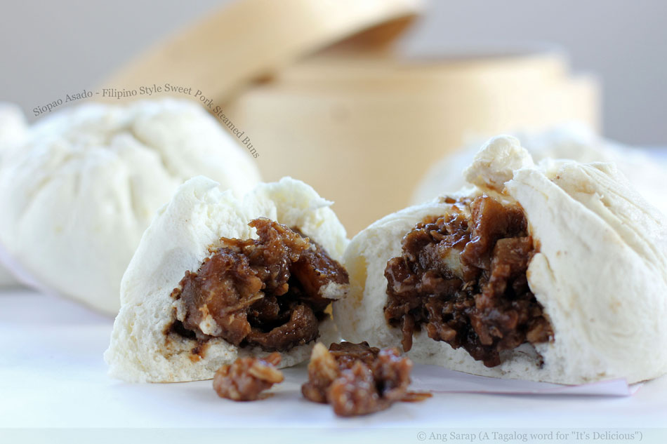 Siopao Asado – Filipino Style Sweet Pork Steamed Buns
