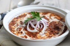 Spicy, Buttery Dal Mahkani Swirled with Heavy Cream