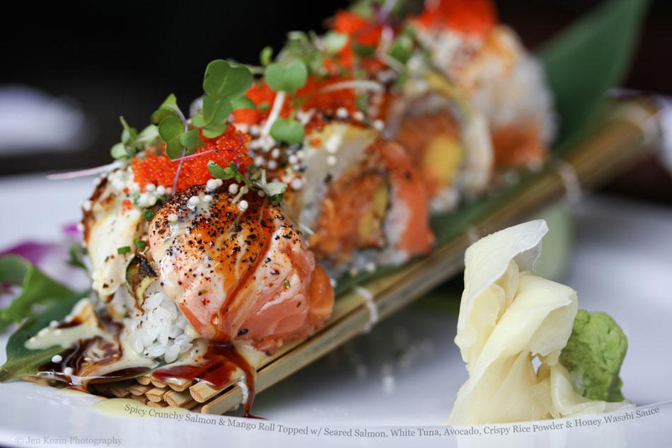 Spicy Crunchy Salmon Roll Spicy Crunchy Salmon And Mango