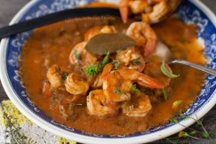 Spicy Hearty Shrimp Etouffee