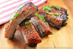 Sticky Sweet and Sour Asian Baby  Back Ribs