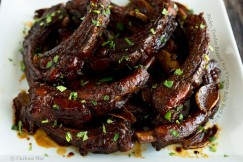 Sticky, Tender Braised Soy Vinegar Baby Back Ribs