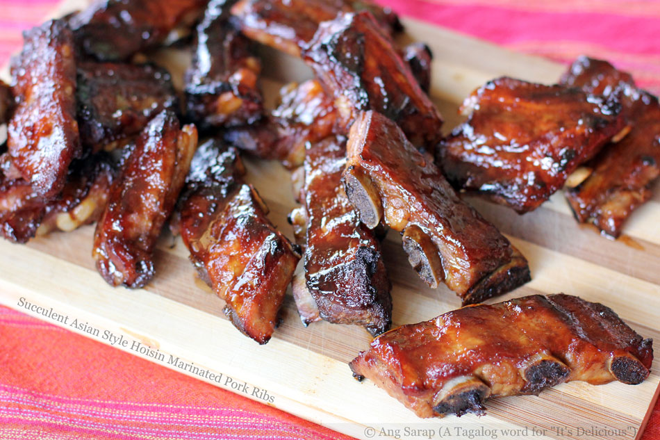 Succulent Asian Style Hoisin Marinated Pork Ribs