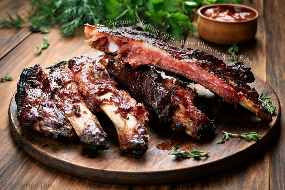 Succulent Falling Off the Bone Chinese Spare Ribs