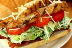 Succulent Grilled Chicken Caesar BLT Sandwich
