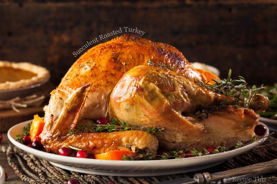 Succulent Roasted Turkey