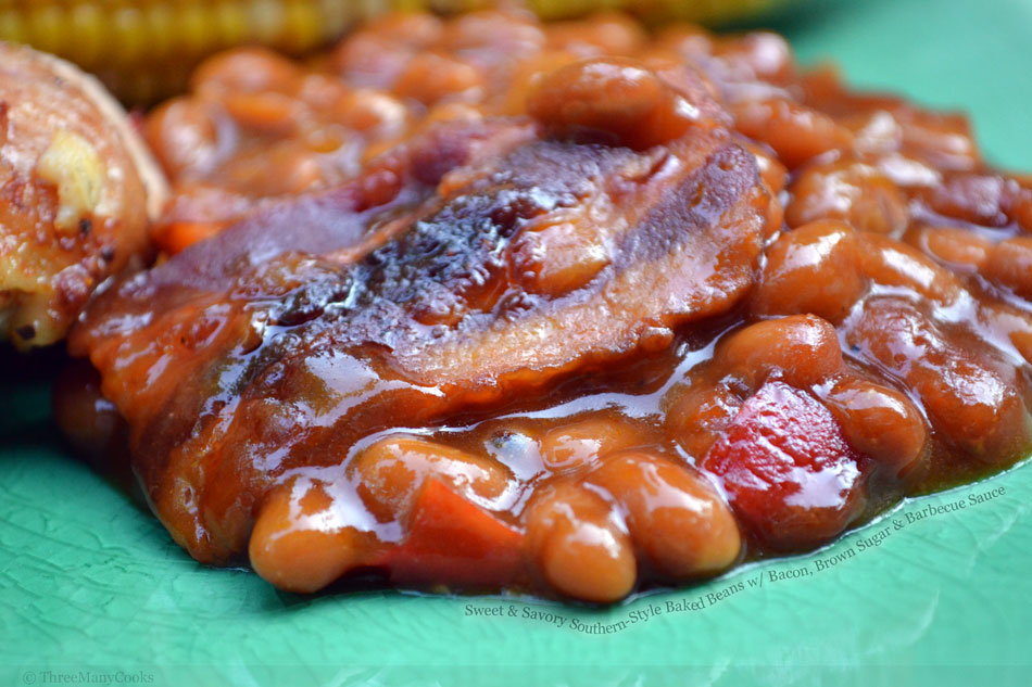 Sweet and Savory Southern-Style Baked Beans with Bacon ...