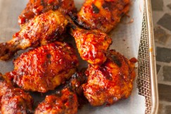 Sweet and Spicy Beer Barbecue Chicken