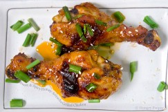 Sweet and Spicy Honey-Sriracha Grilled Chicken