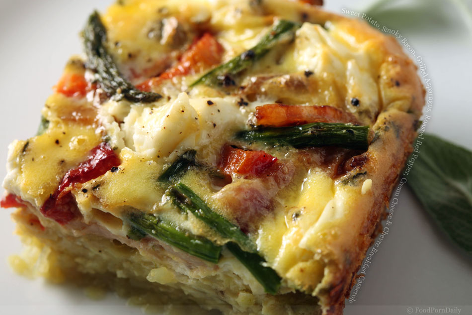 Breakfast Potato-and-Bacon Casserole Recipe — Dishmaps