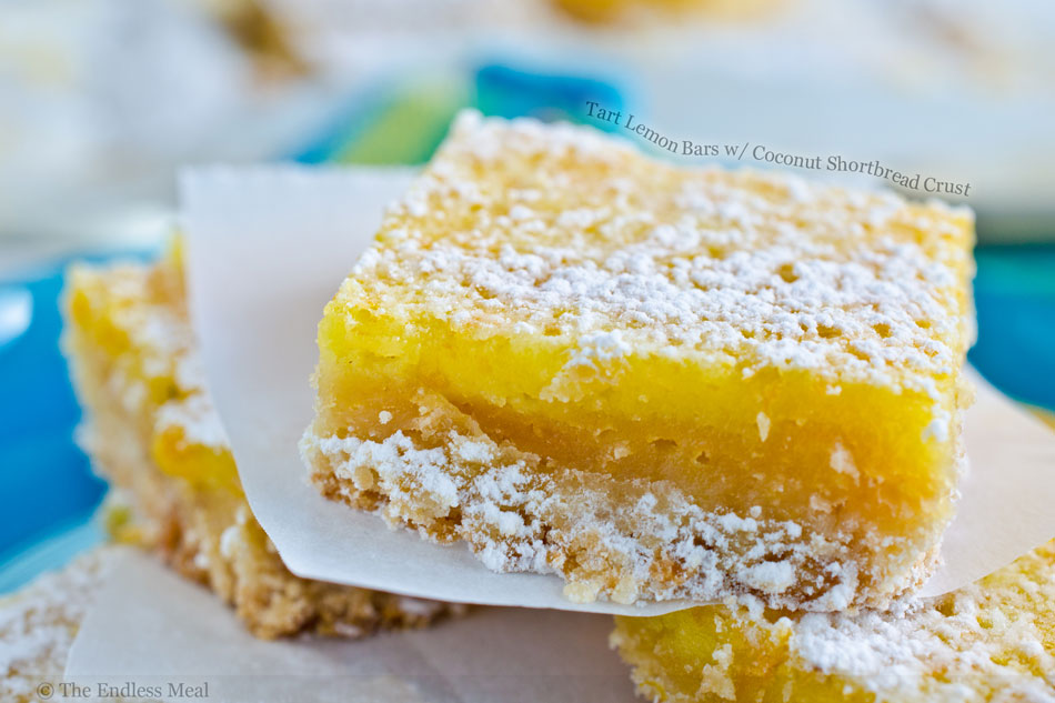 Lemongrass Bars With Coconut Shortbread Crust Recipes — Dishmaps