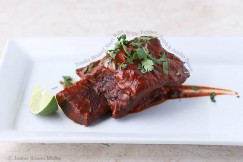 Tender Braised Short Ribs with Dr. Pepper, Apple and Ancho Sauce